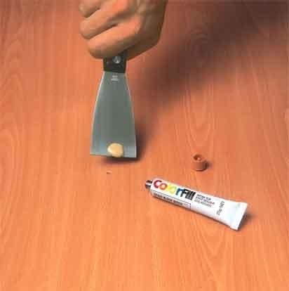 WALNUT Laminate Floor U0026 Kitchen Worktop Repair Kit 25g