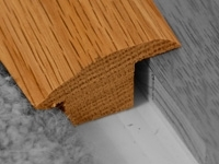 WOOD to CARPET Solid Oak Door Bar/Trim/Threshold 2.7m £39.99+vat