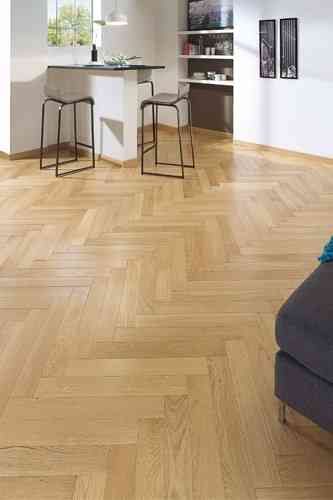 HERRINGBONE French Oak(Satin) by PANAGET