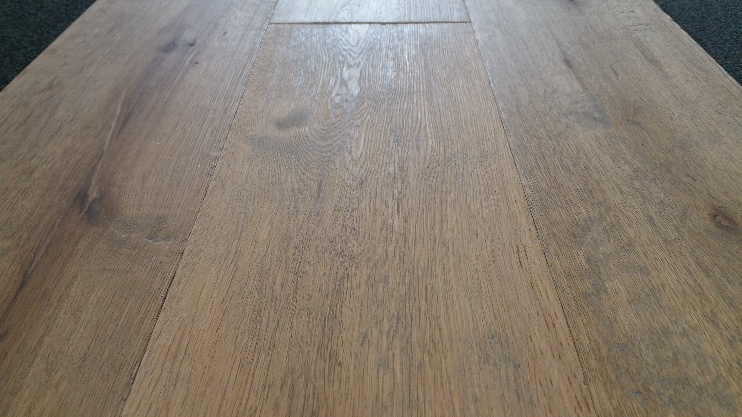 Distressed Amp Rustic Engineered Oak Flooring At Home Of