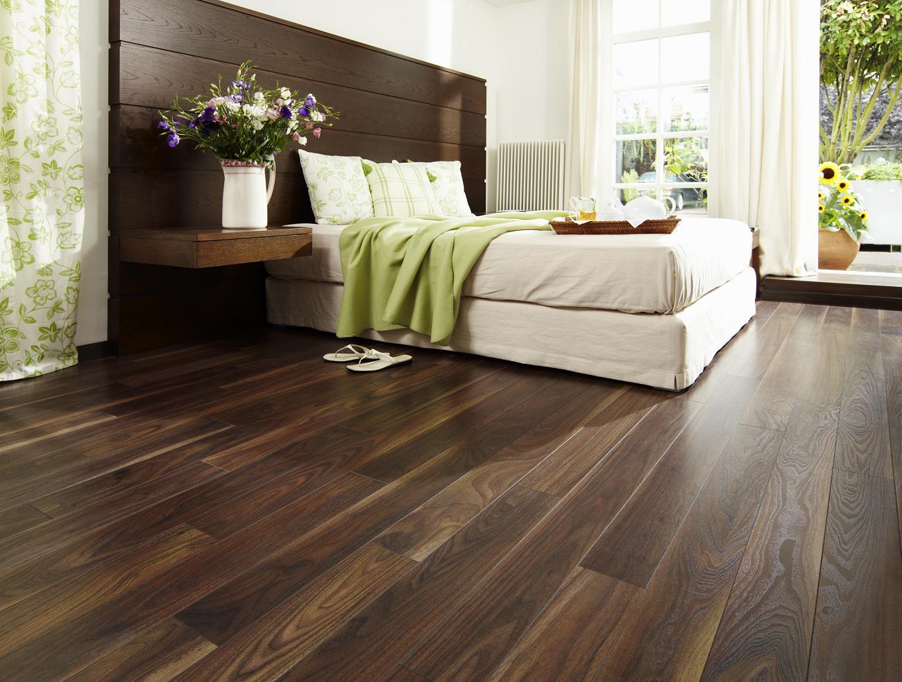 ... Dark Walnut Laminate Flooring