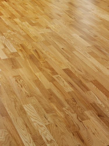 Alpine A305 Engineered Oak CLICK 3 Strip design Lacquered