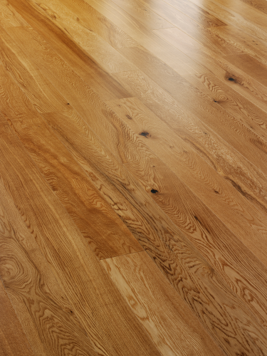 Alpine A101 Rustic Satin Lacquered Oak 150mm wide plank