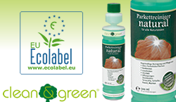 NATURAL Wood Floor cleaner by Clean & Green 500ml