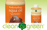 AQUA WOOD FLOOR CARE OIL by Clean & Green 1litre