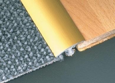 GOLD 2.7m Door Bar Plate Threshold Trim by Dural £23.33 & 2.7m Door Bar Plate Threshold Trim by Dural £23.33