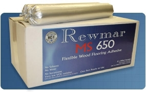 12 x REWMAR MS650 Polymer Wood & Parquet Adhesive 600ml