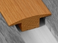 T-BAR Solid Oak Door Bar/Trim/Threshold 2.7m £39.99+vat
