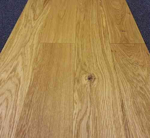 Engineered Oak 125mm wide Brushed & Oiled Only £31.66/m2