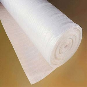 2mm Foam Acoustic Laminate Floor Underlay 15m2 roll...83p/m2+vat