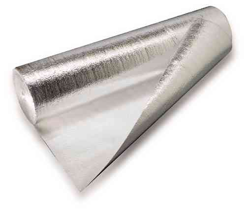 2mm Silver Foil Foam Acoustic Laminate Floor Underlay & DPM barrier 15m2 roll...£1.66/m2+vat