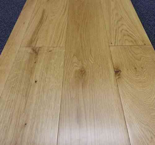 Engineered Oak 125mm wide Lacquered Only £29.16/m2