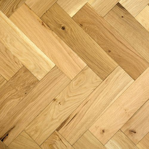 ZIGZAG ZB108 Natural Oak Herringbone Parquet Oak