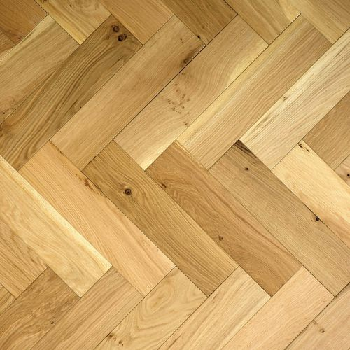 ZIGZAG ZB109 Brushed & Lacquered Herringbone Parquet Oak